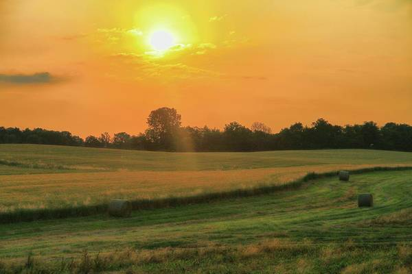 Berlin Ohio Photograph - Holmes County Sunrise by Dan Sproul