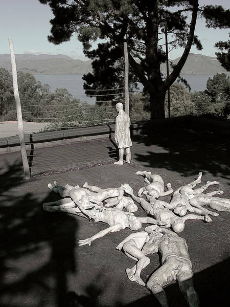 Legion Of Honor Photograph - Holocaust Memorial In San Francisco by Daniel Hagerman