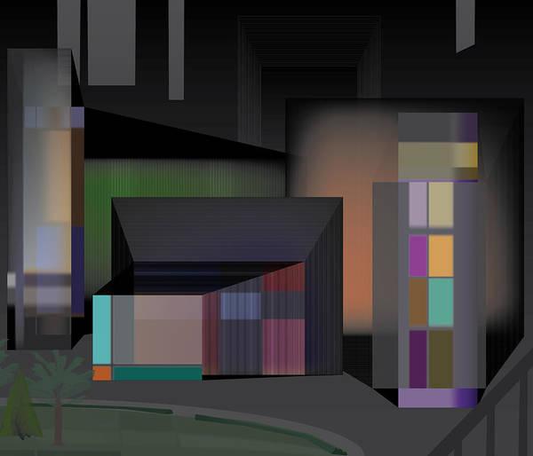 Digital Art - Holocity View by Kevin McLaughlin