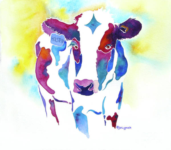 Painting - Holstein  by Jo Lynch