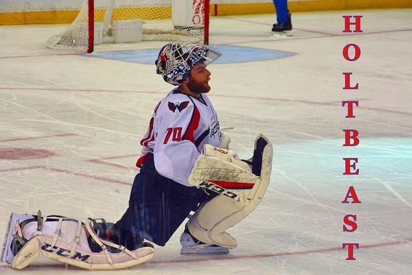 Washington Capitals Photograph - Holtbeast by Lisa Wooten
