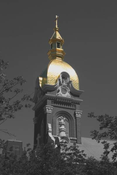 Holy Church Of The Immaculate Conception - Colorized Art Print