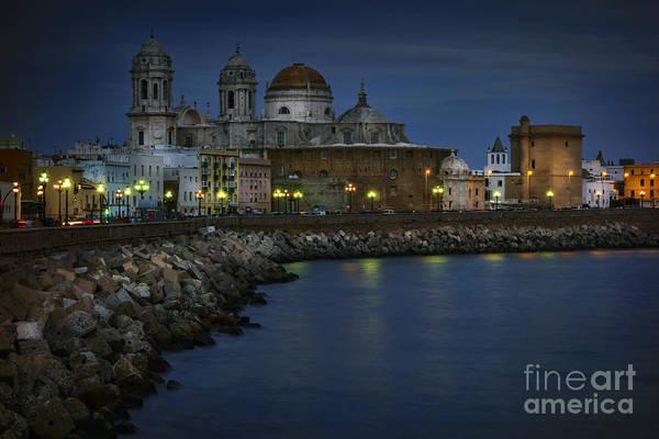 Photograph - Holy Cross Cathedral Cadiz Spain by Pablo Avanzini
