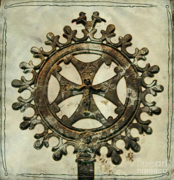 Christianity Digital Art - Holy Cross by Mary Bassett