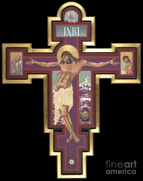 Painting - Holy Cross Of The New Advent 162 by William Hart McNichols