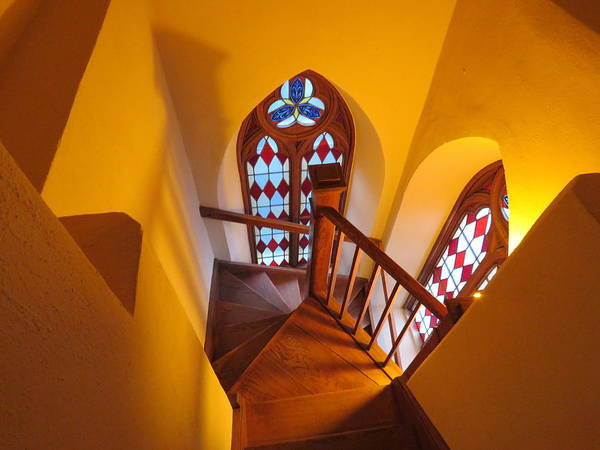 Photograph - Holy Cross Staircase by Keith Stokes