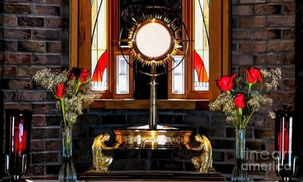 Photograph - Holy Eucharist Body And Blood Of Christ by Rose Santuci-Sofranko