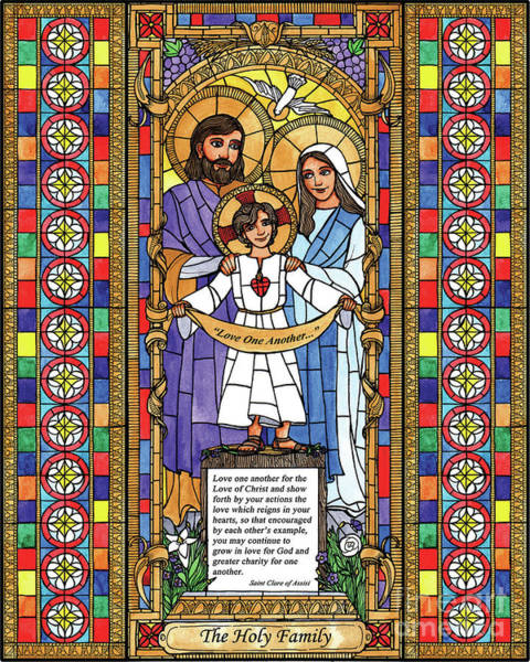 Painting - Holy Family by Brenda Nippert