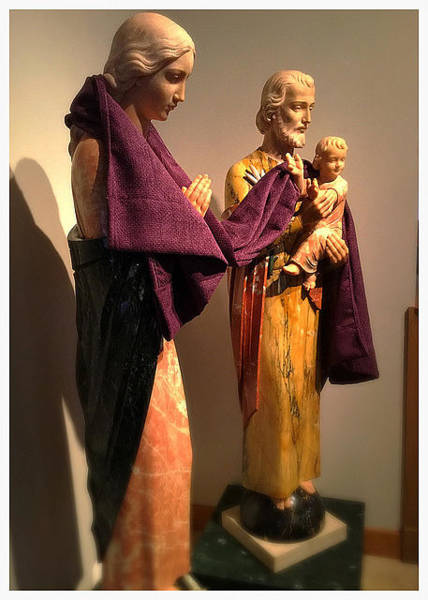 Creation Wall Art - Photograph - Holy Family - Lent by Frank J Casella