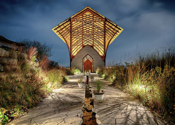 Photograph - Holy Family Shrine by Susan Rissi Tregoning