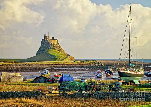 Photograph - Holy Island And Lindisfarne Castle by Martyn Arnold