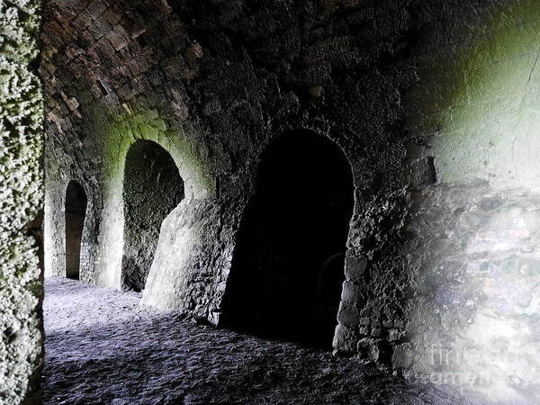 Photograph - Holy Island Lime Kilns 3 by Lexa Harpell