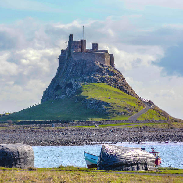 Photograph - Holy Island, Lindisfarne by Chris Coffee