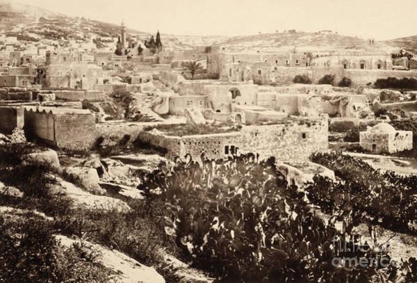 Photograph - Holy Land, Nazareth, C1860.  by Granger