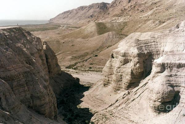Photograph - Holy Land: Qumran Caves by Granger
