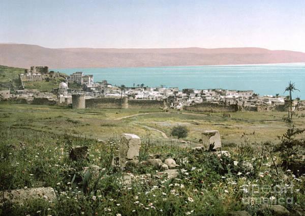 Photograph - Holy Land: Tiberias by Granger