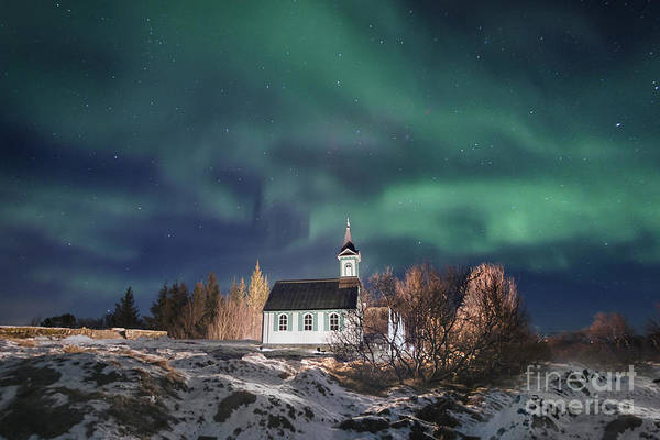 Northern Photograph - Holy Night by Evelina Kremsdorf