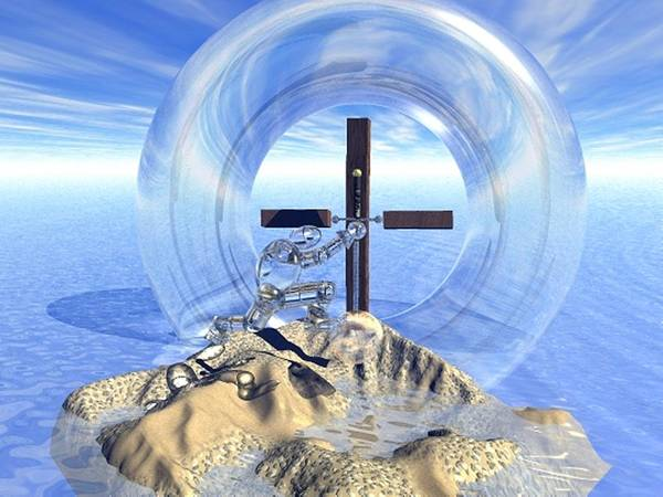 Digital Art - Holy One by Darren Cannell