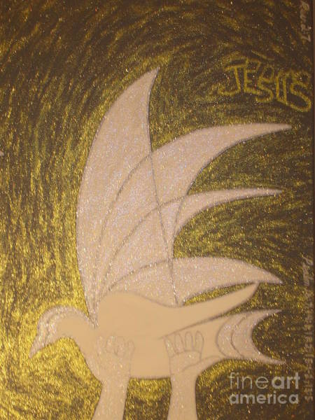 Scriptural Painting - Holy Spirit by Daniel Henning