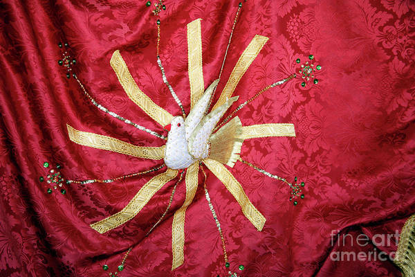 Holy Ghost Photograph - Holy Spirit Flag by Gaspar Avila