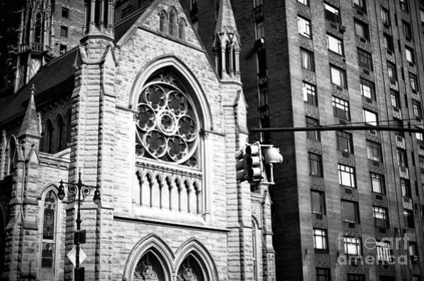Photograph - Holy Trinity Lutheran Church by John Rizzuto