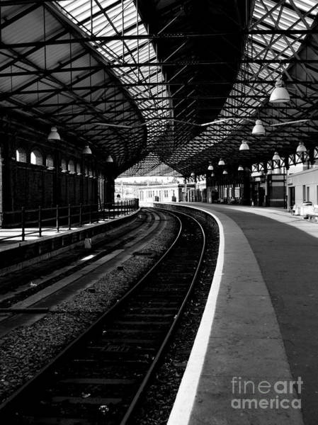 Photograph - Holyhead Station by Lexa Harpell