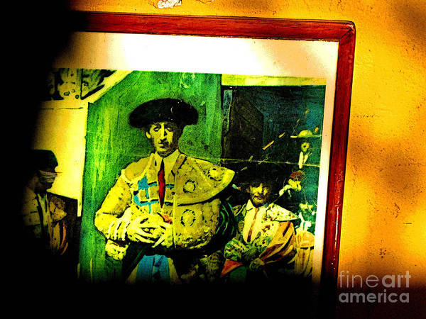Matador Photograph - Homage In Shadows by Mexicolors Art Photography