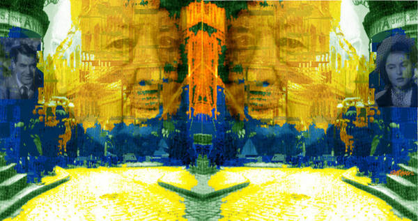 Suspense Digital Art - Homage To Sir Alfred by Seth Weaver
