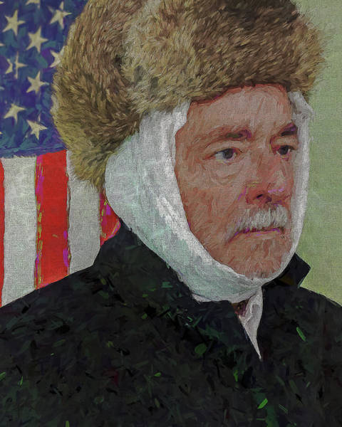Photograph - Homage To Van Gogh Selfie by Jerry Gammon