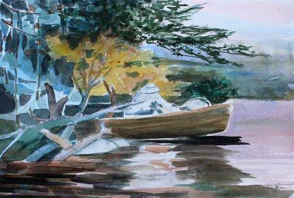 Wall Art - Painting - Homage To Winslow Homer by Mindy Newman