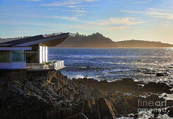 Carmel By The Sea Photograph - Home Carmel Overlooking Pacific Ocean  by Chuck Kuhn
