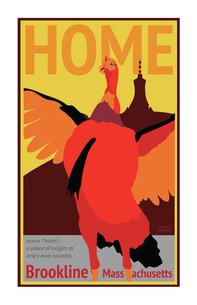 Turkey Digital Art - Home by Caroline Barnes