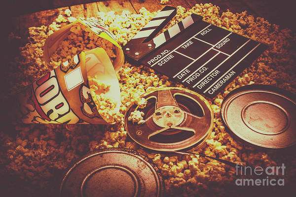 Film Industry Wall Art - Photograph - Home Cinema Art by Jorgo Photography - Wall Art Gallery