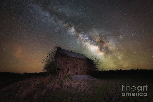 Photograph - Home Grown Milky Way  by Michael Ver Sprill