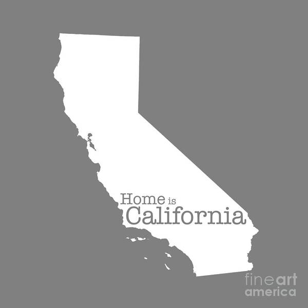 Boundary Digital Art - Home Is California by Bruce Stanfield