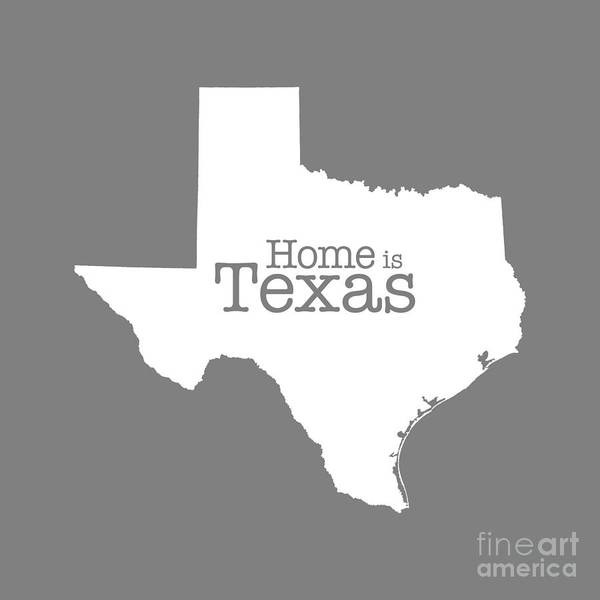 Boundary Digital Art - Home Is Texas by Bruce Stanfield