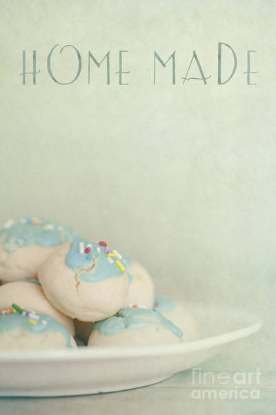Icing Wall Art - Photograph - Home Made Cookies by Priska Wettstein