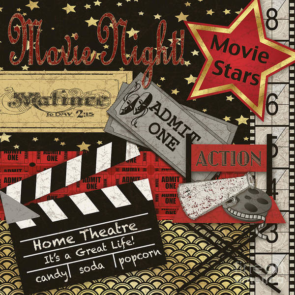 Camera Painting - Home Movie-jp3516 by Jean Plout