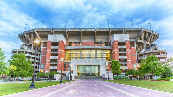 College Football Photograph - Home Of Champions -- Bryant-denny Stadium by Stephen Stookey