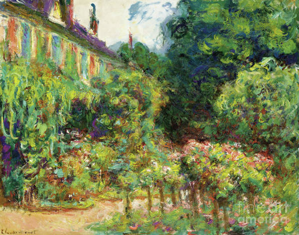 Painting - Home Of The Artist At Giverny, 1913  by Claude Monet