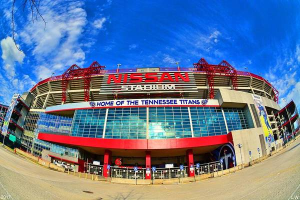 Photograph - Home Of The Tennessee Titans by Lisa Wooten