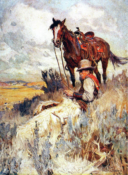 Painting - Home On The Range by Philip R Goodwin