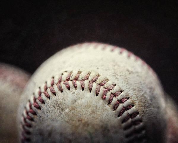 Wall Art - Photograph - Home Run Ball by Lisa Russo