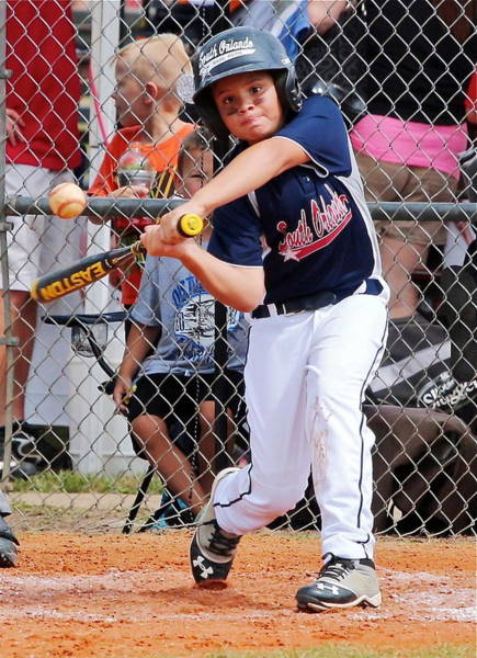 Wall Art - Photograph - Home Run In The Making by Denise Mazzocco