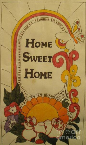 Painting - Home Sweet Home by Jeanie Watson