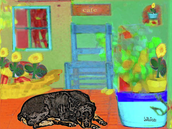 Digital Art - Home Sweet Home Painting 4 by Miss Pet Sitter