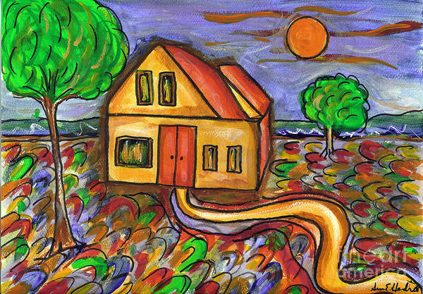 Painting - Home Sweet Home by Susan Hendrich