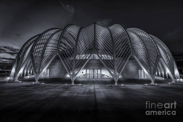 Santiago Calatrava Photograph - Home Work Time-bw by Marvin Spates