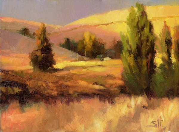 Wall Art - Painting - Homeland 1 by Steve Henderson