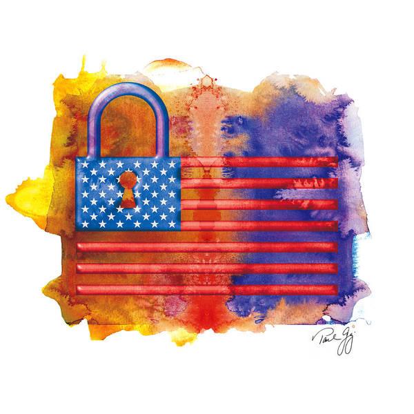 Mixed Media - Homeland Security by Paul Gaj